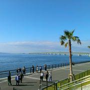 対岸から空港島眺め