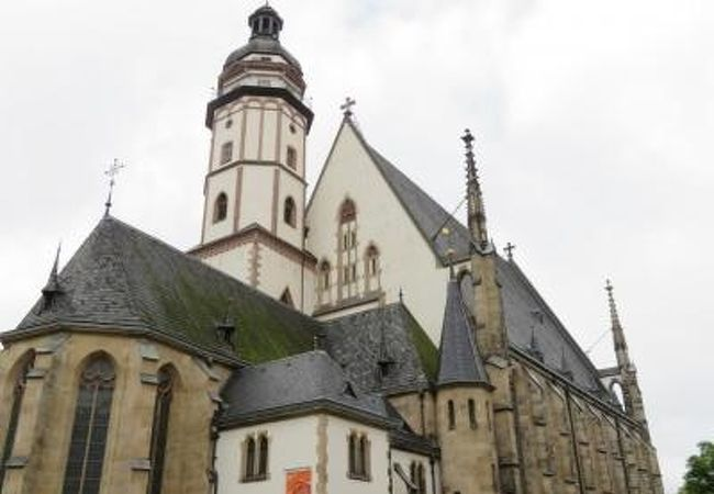 2019年5月 Leipzig ライプツィヒ Thomaskirche トーマス教会♪