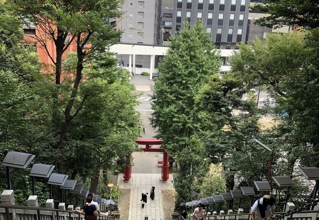 愛宕神社参道