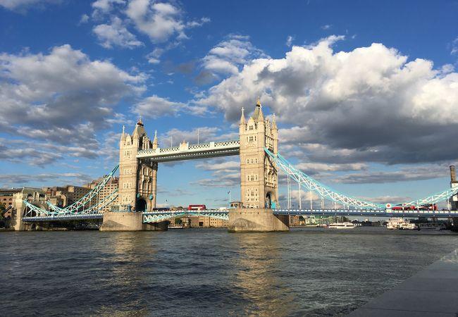 ロンドン中心部を流れる川