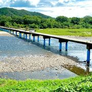 欄干の無い橋
