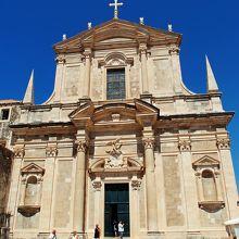 高台に建つ聖イグナチオ教会