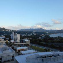 ホテルマハイナウエルネスリゾート沖縄からの眺望