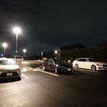 広い駐車場(更地・予約不要・無料) たびのホテル鹿島