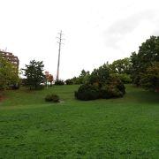ファンには有名な公園。
