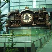 ジブリの大時計