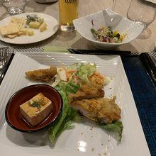 1日目晩御飯