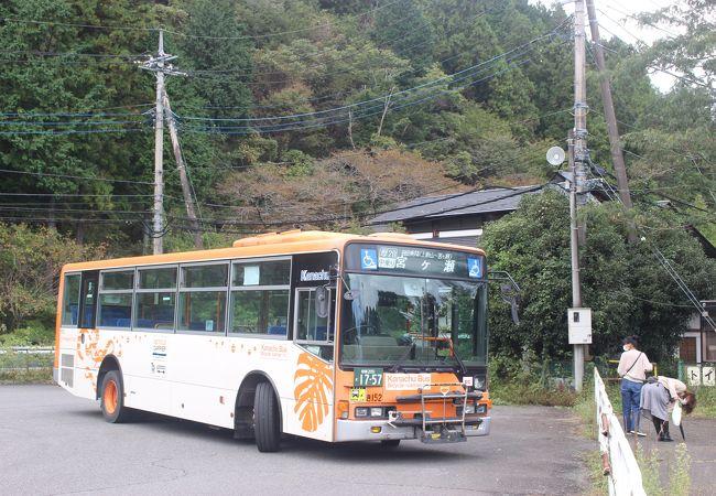 路線バスで行きました