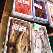 魚は地の物が多いです