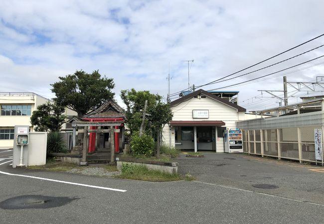 北茅ヶ崎駅前の神社