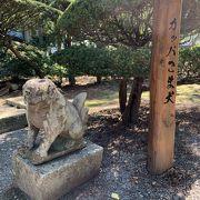 かっぱ狛犬のお寺さん