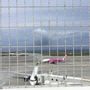 飛行機の見学