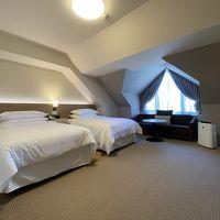 客室は広めで、リゾートホテルとして十分です。