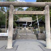 仙巌園の横にある神社