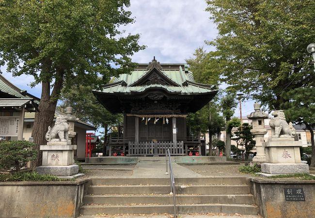 明治初期に、大阪の住吉大社から分霊