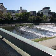 京都市を流れる川