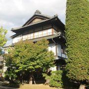 旧宿場町・坂木宿と村上義清の資料館
