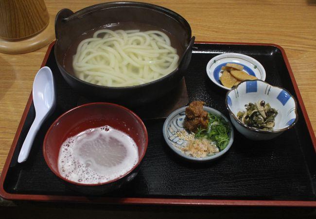 坂城駅前の居酒屋&定食店 名物のおしぼりうどんを食べました