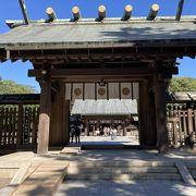 宮崎市で1番大きな神社