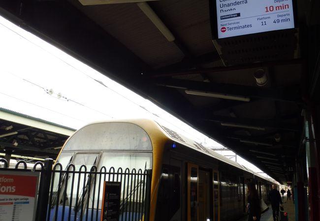 South Coast Lineの始発駅