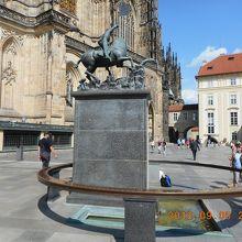 セントジョージの記念像 (プラハ城)