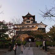 日本国宝五城の一つです