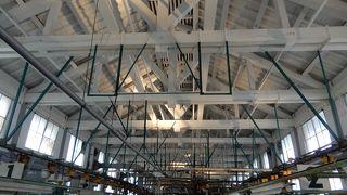 木造トラス造りの工場建築がすごい