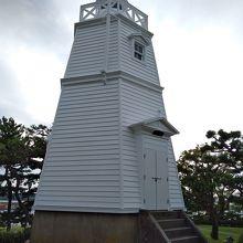 木造六角灯台