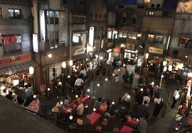 新横浜ラーメン博物館 露店