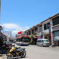 通りに出ればそこは世界遺産地区のジョージタウン。