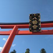 豪奢で美しい神社