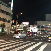 十三駅前通商店街