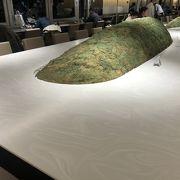 枯山水をイメージしたようなテーブルがありました