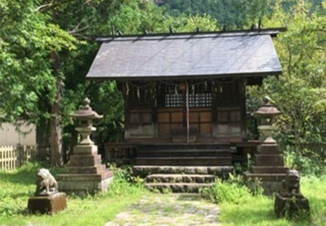 通洞鉱山神社
