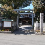 古い神社です。