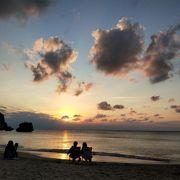 ほぼ、星野リゾートのプライベートビーチ