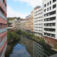 飯坂温泉の街並