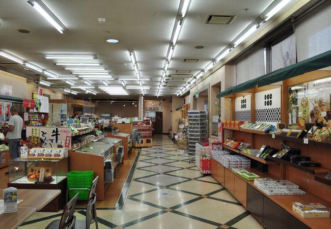 東部湯の丸サービスエリア 上り線 ショッピングコーナー