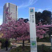 錦糸町駅近くの公園