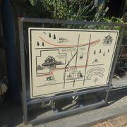 松山城に向かうロープウェイがある商店街です。