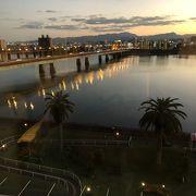 夜も綺麗な大淀川