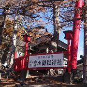 富士山五合目で参拝