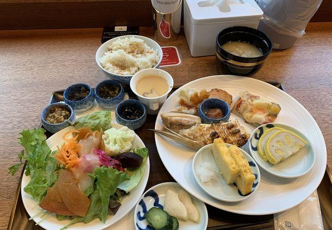 ホテル日航熊本のブッフェ