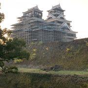 熊本城の現在の修復状況を確認