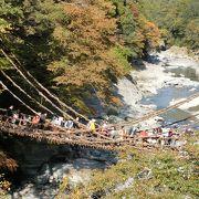 公共機関でもアクセス可能です☆スカスカで渡りがいのある橋!