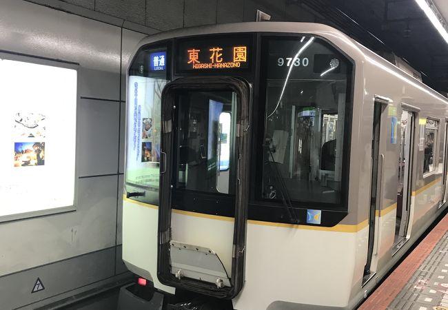 阪神電鉄と直通で便利