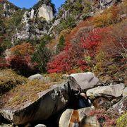 昇仙峡のメインスポット