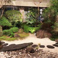 中庭の庭園です。