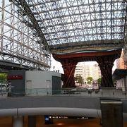 金沢駅のシンボル的な建築
