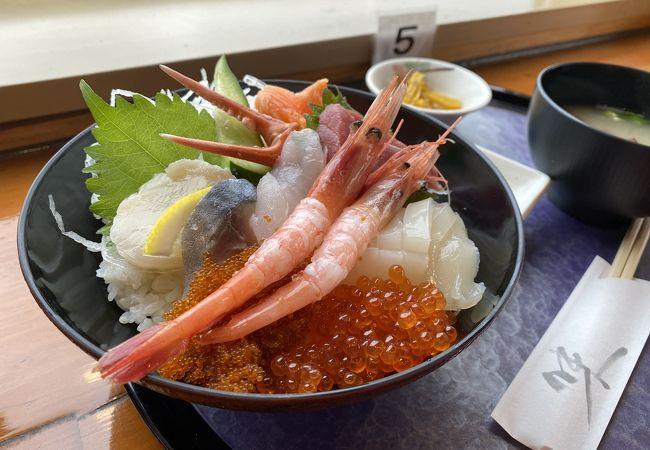 稚内駅すぐそば、お土産も食事も!